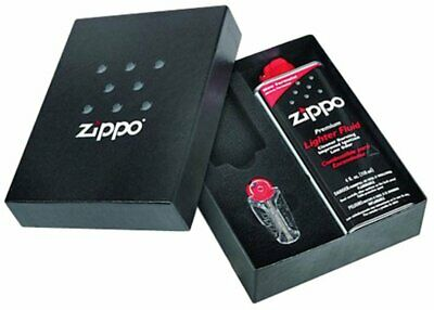 $7.79 • Buy Zippo Gift Kit Box For Slim Lighter: 4 Oz Fuel + 6-Flint Dispenser #50S