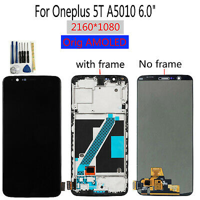 AU130.79 • Buy Original AMOLED 6.0  For Oneplus 5T A5010 LCD Display Touch Screen Digitizer