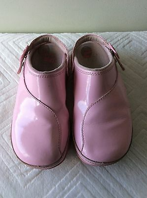 FITFLOP Girls Pink Patent Mule Style Shoe Size 13 • 5.99£