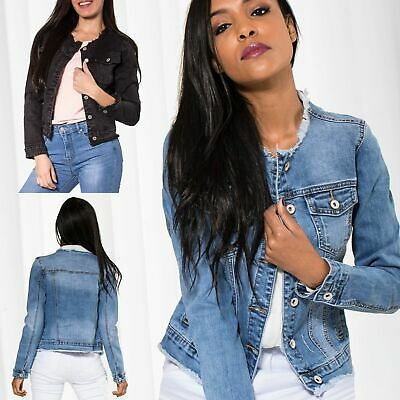 uk availability 98183 99ff2 Gilet Di Jeans Donna