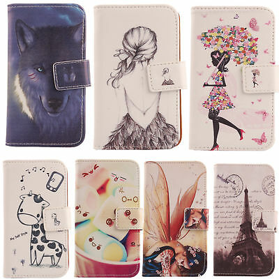 $10.99 • Buy For Smartphone - Phone PU Leather Case Flip Folio Cover Skin Wallet Protection