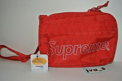 $ CDN231.54 • Buy NEW FW18 SUPREME SHOULDER BAG RED Box Logo Cdg Authentic Limited X-pac