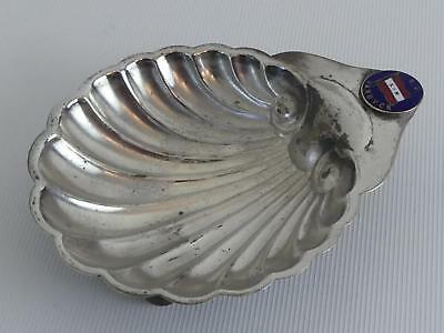(ref165EG 43) Vintage SS Van Dyke Silver Plated Butter Dish • 9.99£