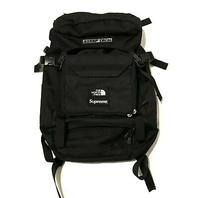 14b35d61cd Supreme X The North Face Steep Tech Backpack Black 100% Authentic TNF Bogo  Box •