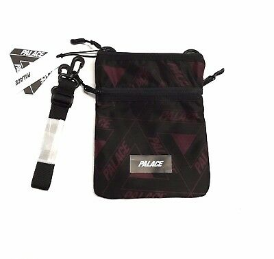 $ CDN103.65 • Buy 100% Authentic Palace Tri Ferg Flat Sack Fig F/W 17 Supreme Shoulder Waist Bag