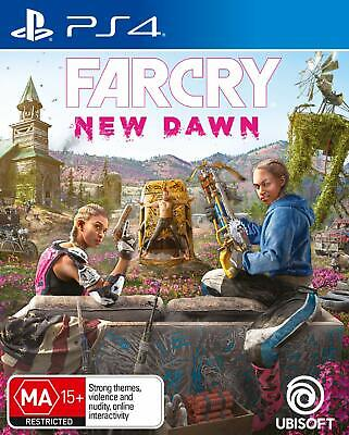 AU44.99 • Buy Sony PS4 Playstation 4 Far Cry Farcry 5 New Dawn Console First Person Shooter