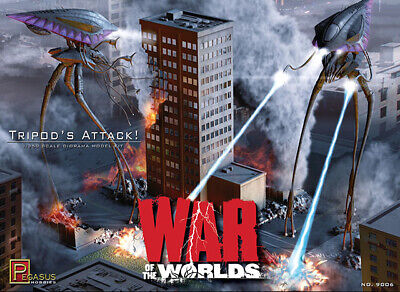 War Of The Worlds - 2005 Tripod's Attack Model Kit • 46.04£