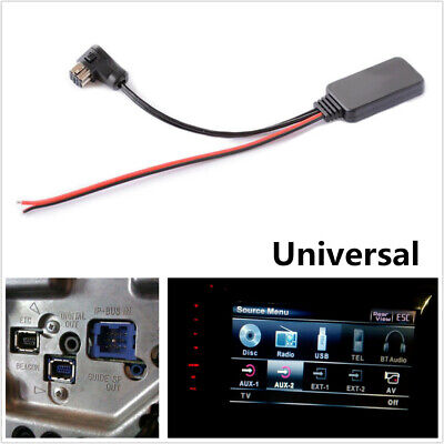 $13.89 • Buy Durable Car Bluetooth Audio Aux Stereo Music Receiver Adapter For Pioneer IP-BUS