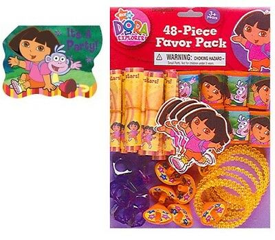 Dora Invitations Or Party Favor Pack Party Supplies • 9.58£
