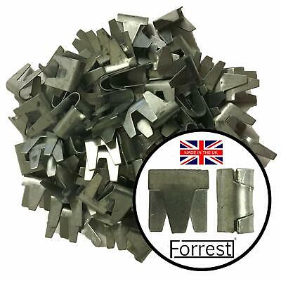 Wire Mesh Clips 180 QTY Forrest® Ideal For Cage Aviary Repair Fencing Gabions • 15.99£