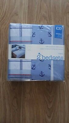 Next Twin Double Nautical Theme Bed Sets • 24.99£