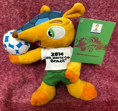£11.99 • Buy Fuleco 2014 World Cup Mascot Brazil 10  Soft Toy With Tags