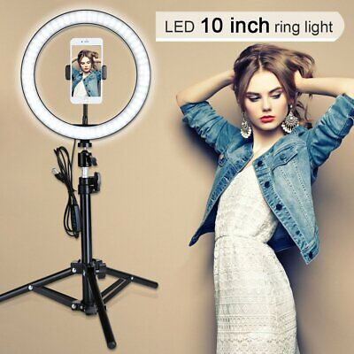 AU36.95 • Buy 6  ZOMEI Ring Light Selfie Light Ring With Stand Beauty Light And Phone Clip