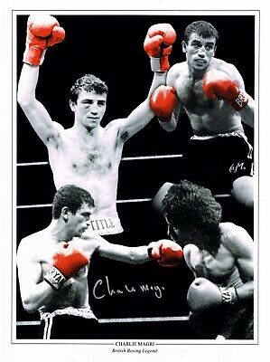£24.99 • Buy CHARLIE MAGRI BOXING HAND SIGNED PHOTO AUTHENTIC + COA - 16x12