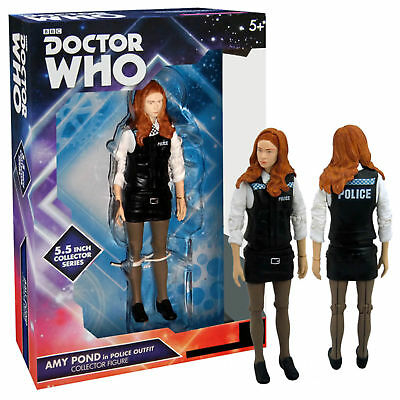 Doctor Who Amy Pond In Police Uniform Action Figure Exclusive New * • 29.99£