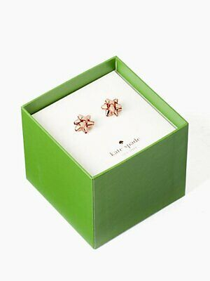 $ CDN44.49 • Buy Kate Spade New York Rose 🌹 Gold Bourgeois Bow Boxed Stud Earrings
