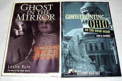 £8.50 • Buy Lot Of 2 True Ghost Books~Ghost In The Mirror By Leslie Rule & Ghosthunting Ohio