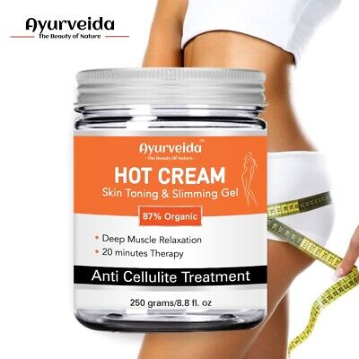 Anti Cellulite Hot Cream/Gel Slimming - Deep Muscle Relaxation Oil- Loss Weight  • 13.99£