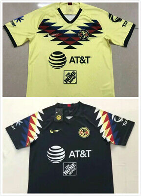 2019-2020 Club America Home/Away Soccer Jersey Short Sleeve T Shirt Size:S-XXL • 16.66$