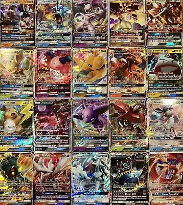 AU39.95 • Buy 200 Pokemon Cards - Premium Pack - All Have 2 GX Or V Or EX Plus 24 Holos/Rares