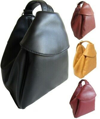 Ladies Girls Cute Visconti Abbie Leather Handbag That Converts Into A Backpack  • 79.99£