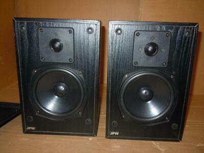 JPW Gold Monitor Speakers-Made In England-One Tweeter Faulty • 24£
