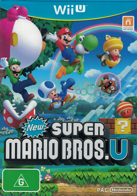 AU29.95 • Buy New Super Mario Bros U, Wii U, Nintendo Wii U, USED