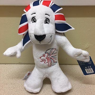 Plush Olympic Official Mascot Team GB Pride The Lion London 2012 • 10.99£