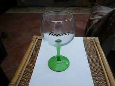 Super Green Stem Tall Copa Goldfish Bowl Gin Glass Advertising Tanqueray • 7.99£