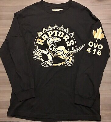 21dd73e770bc54 Octobers Very Own Toronto Raptors OVO Drake 2014 Limited Edition L S Shirt  • 62.72