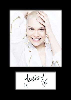 £3.79 • Buy JESSIE J Signed Photo Print A5 Mounted Photo Print - FREE DELIVERY