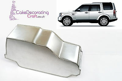 3D Novelty Cake Baking Tins And Pans | Land Rover Discovery Cake Shape  • 9.49£