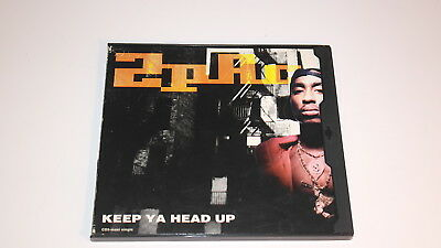 2pac Keep Ya Head Up Cd Maxi Single Rare Oop Tupac 1993 • 30£