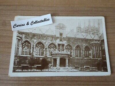 £2.99 • Buy  Oriel College Hall Cecil Rhodes College Oxford, Carbon Gloss Series Postcard