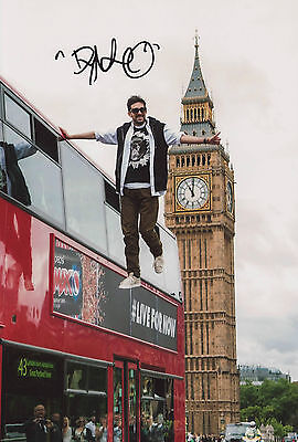 £59.99 • Buy Signed Picture Of Dynamo Magician Impossible. Bus Levitation In London. Magic TV