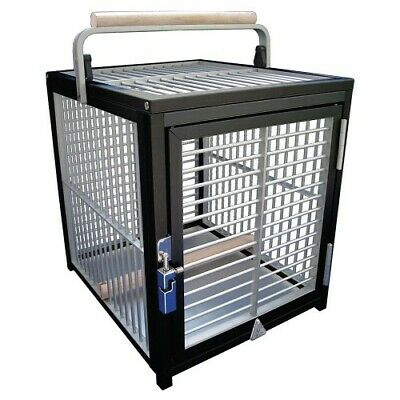 £224 • Buy King's Cages Aluminium Parrot Travel Cage - Small - New Black Colourway