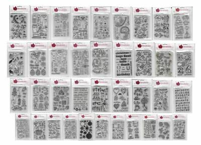 Woodware Clear Magic Stamps Selection - Choose Your Designs - Free Post • 7.99£
