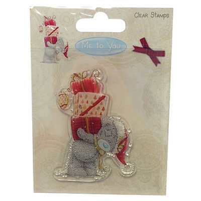 Me To You Tatty Teddy Clear Christmas Stamp Presents Gifts Cute Bear Cardmaking • 6.99£