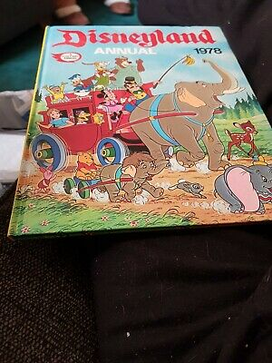 The Disneyland Annual 1978 X EXCELLENT CONDITION X 1720 X • 5.49£