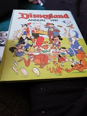The Disneyland Annual 1981 X VERY GOOD CONDITION FOR AGE X 1723 X • 4.99£
