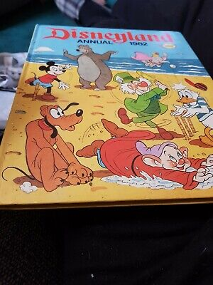 The Disneyland Annual 1982 X EXCELLENT CONDITION FOR AGE X 1724 X • 4.95£