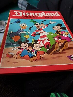 The Disneyland Annual 1983 X VERY GOOD CONDITION FOR AGE X RARE X 1725 X • 4.25£
