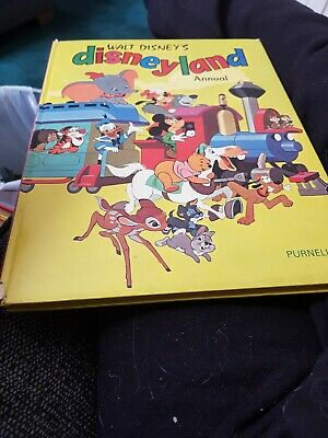 The Disneyland Annual 1971 X GOOD CONDITION FOR AGE X VERY RARE X 1715 X • 8.40£