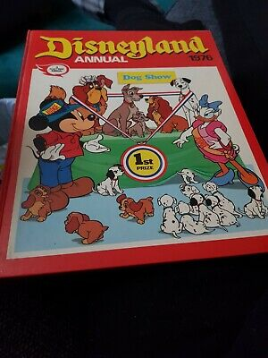 The Disneyland Annual 1976 X VERY GOOD CONDITION FOR AGE X 1710 X • 6.50£