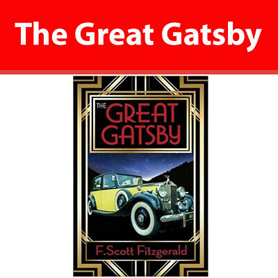 The Great Gatsby By F. Scott Fitzgerald Literary Fiction Paperback NEW • 3.34£