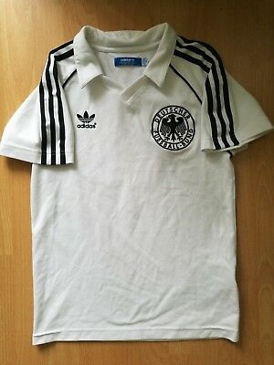 Germany DFB 1981 1982 Vintage Football Jersey Shirt Trikot Retro Remake XS Rare • 9.99£