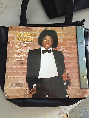 EXTREMELY RARE!! Michael Jackson Off The Wall COVER Bag/purse NONE ON EBAY • 112.25£