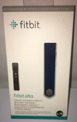 $ CDN20.02 • Buy Fitbit Classic Accessory Band Blue, Large Fits Alta & Alta HR Free Shipping!