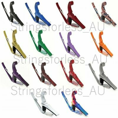 $ CDN43.01 • Buy Kyser Capo Acoustic Guitar Capo 6-String Quick Change Multiple Colours 6 String