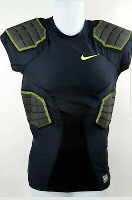8d273478 NEW Nike Pro Combat Hyperstrong Breathable Padded Mens Sz M Black Football  Shirt • 42.00$